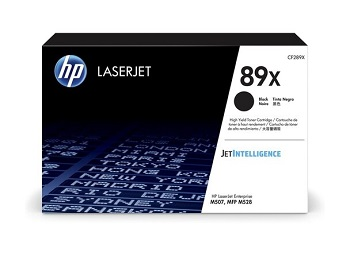 Original HP LaserJet M507, M507dn, M507dng, M507x, M528c, M528z, M528dn, M528f Black High Yield Toner Cartridge CF289X