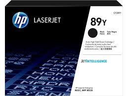 Original HP 89Y, Black LaserJet Toner Cartridge cf289y