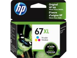 Genuine HP 67XL Colour High Yield Ink Cartridge