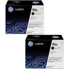 Original HP 90A, LaserJet Double Pack Toner Cartridges