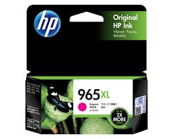 Original HP OfficeJet Pro 9010, 9012, 9016, 9018, 9019, 9020, 9026, 9028 Magenta Ink Cartridge 965XL