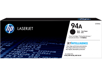 Original HP 94A, Black LaserJet Printer Toner Cartridge cf294a
