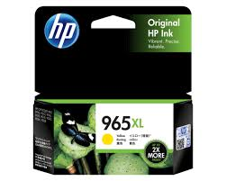 Original HP OfficeJet Pro 9010, 9012, 9016, 9018, 9019, 9020, 9026, 9028 Yellow Ink Cartridge 965XL