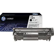Original HP 12A, LaserJet toner cartridge q2612a