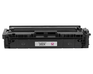 Compatible HP 202X, Magenta HP LaserJet Toner Cartridge cf503x