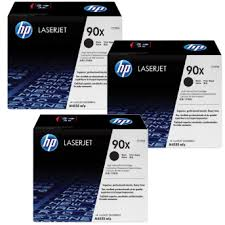 HP 90X, LaserJet Triple Pack Toner Cartridges