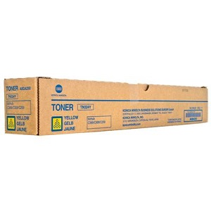 Genuine Konica Minolta Bizhub C258, C308, C368 Yellow Toner Cartridge TN324Y