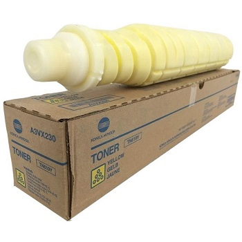 Genuine Konica Minolta Bizhub C1060, C2060, C2070, C3070L Yellow Toner Cartridge TN619Y