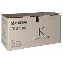 Kyocera TK-8119K Black Genuine Printer Toner Cartridge