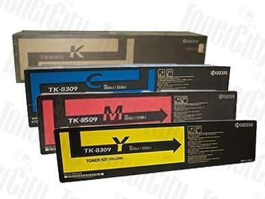 Kyocera TK-8309 Genuine Value Pack Toner Cartridges