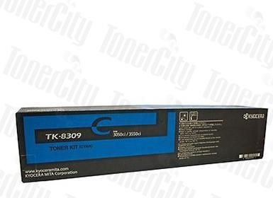 Kyocera TK-8309 Cyan Genuine Toner Cartridge