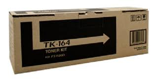 Genuine Kyocera Printer FS1120d, P2035d Black Toner Cartridge Kit TK-164