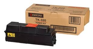 Genuine Kyocera Printer FS3900, FS3900dn, FS4000, FS4000dn Black Toner Cartridge Kit TK-320