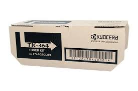 Genuine Kyocera Printer FS4020DN Black Toner Cartridge Kit TK-364