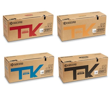 Genuine Kyocera Colour Printer M6230CDN, M6230CIDN, M6630CIDN P6230CDN Multicolour Pack Toner Cartridge Kits TK-5274K TK-5274C TK-5274M TK-5274Y