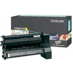 Genuine Lexmark C780 C782 X782 Yellow Toner Cartridge C782X1YG