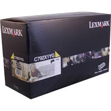 Genuine Lexmark C792 Yellow Toner Cartridge C792X1YG