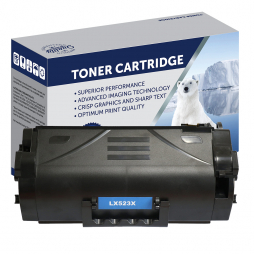 Refurbished Polar Lexmark 523X, Toner Cartridge 52D3X00