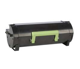Refurbished QImage Lexmark MS421, MS521, MS622, MX421, MX521, MX622 Black High Yield Toner Cartridge 56F6X0E