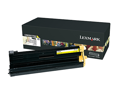 Genuine Lexmark C925, X925 Yellow Image Unit C925X75G