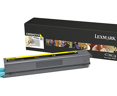 Genuine Lexmark C925 Yellow Toner Cartridge C925H2YG