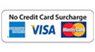 No Credit Card Surcharge