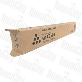 Genuine Ricoh Colour Printer MPC2003, MPC2004, MPC2503, MPC2504 Black Toner Cartridge 841932