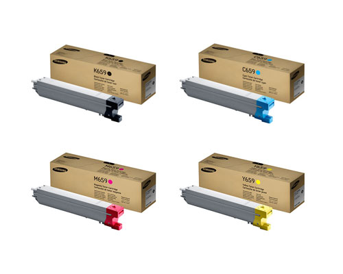 Samsung 659S Value Pack Bundle Toner Cartridges