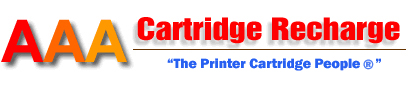 AAA Cartridge Recharge, the online store to find discount genuine and quality compatible printer toner & ink cartridges for Brother, Canon, Dell, Fuji Xerox, HP LaserJet, Konica Minolta Bizhub, Kyocera, Lexmark, Oki, Ricoh & Samsung. Lower everyday genuine laser printer toner cartridge prices. *If you cannot find it on our site, please use the Get A Quote Form for a quick reply.