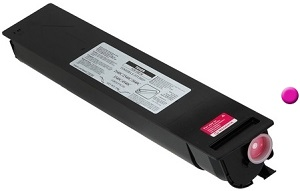 Genuine Toshiba EStudio Colour Printer 2040c, 2540c, 3040c, 3540c, 4540c Magenta Toner Cartridge TFC-25M