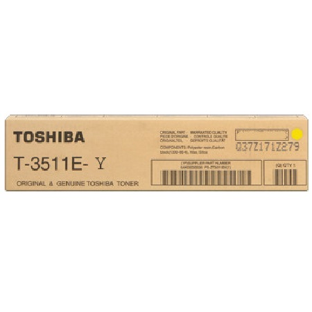 Toshiba T3511Y Yellow E Studio Toner Cartridge