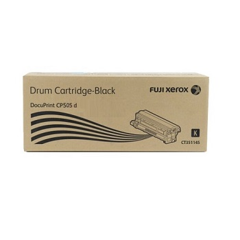 Genuine Fuji Xerox Docuprint CP505D Black Drum Cartridge ct351145