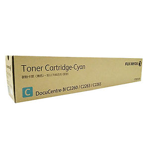 Genuine Fuji Xerox Docucentre IV, C2260, C2263, C2265, Cyan Toner Cartridge CT201435